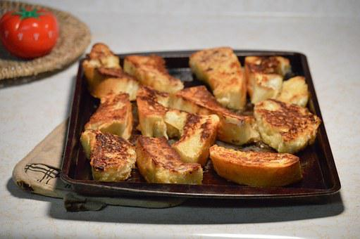 French Toast, Cooking, Toast, Toasted, Food, Bread
