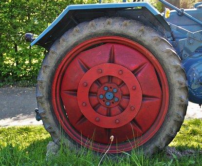 Trek Mature, Treckerrad, Tractors, Lance-trek, Detail