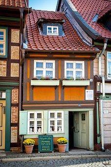 Truss, Museum, Wernigerode, Smallest House, Resin