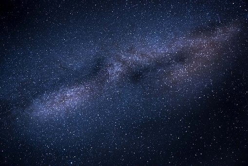 Milky Way, Stars, Galaxy, Space, Universe, Astronomy