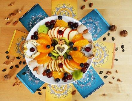 Fruit, Fruit Salad, Fruits, Colorful, Vitality Food
