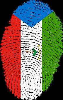 Equatorial Guinea, Flag, Fingerprint, Country, Pride