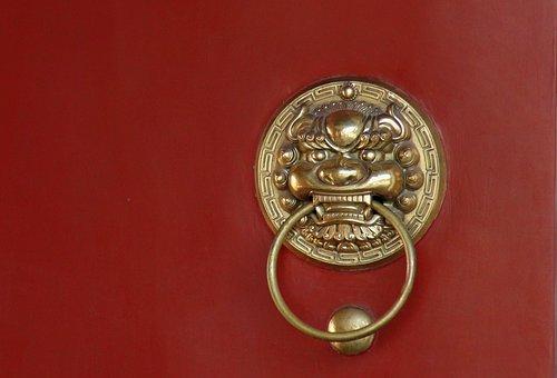 Door Knocker, Door, Beast, The Brass Ring