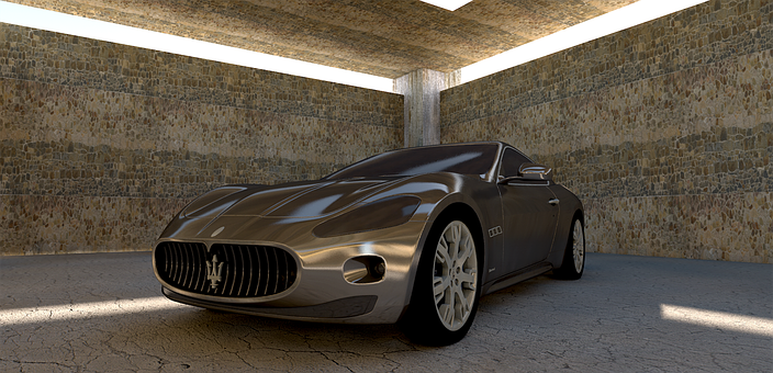 Maserati, Maserati Gt, Sports Car