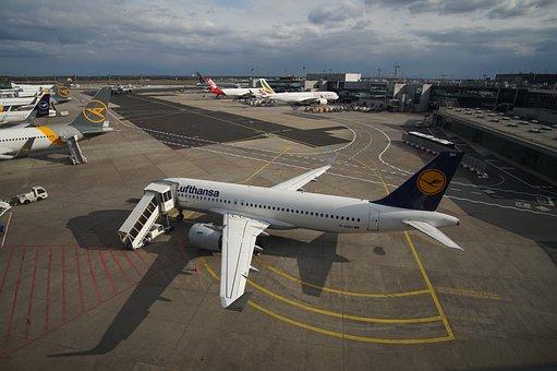 Airport, Aircraft, Passenger Aircraft, Terminal