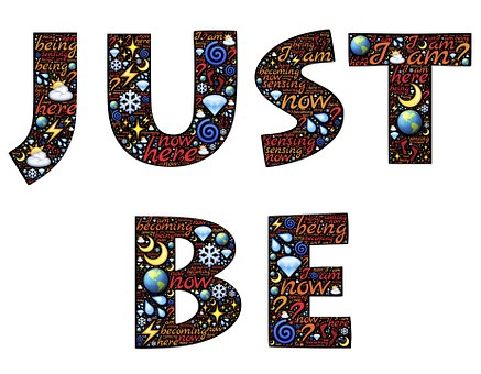 Just Be, I Am, Identity, Word Image