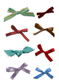 Ribbons, Decoration, Scrapbook, Gift, Bow, Present, Red