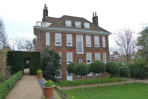 Hampstead, Fenton House, London, Architecture, Historic