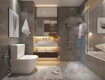 Toilet, Apartment, Interior Design, Indoors, Decoration