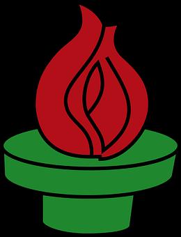 Olympics, Torch, Flame, Light, Symbol