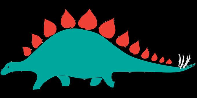 Stegosaurus, Dinosaur, Toy, Rubber Toy, Rubber Dinosaur