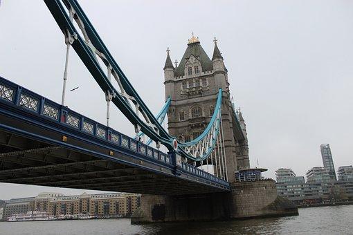 Tower Bridge, London, England, River