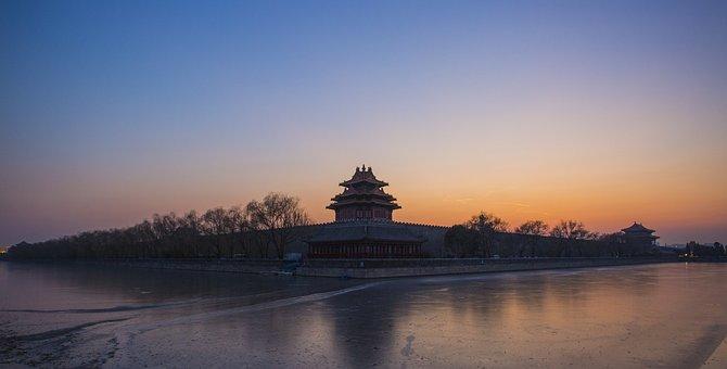 Beijing, Turret, Twilight