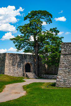 Kastel Fortress, Fortress, Medieval, Wall, Historical