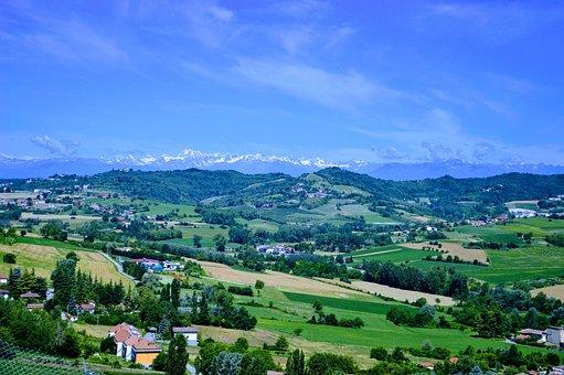 Moncalvo, Hills, Unesco, Monferrato