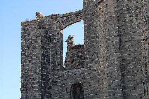 The Port Of Santa Maria, Heritage, Monument, Stork