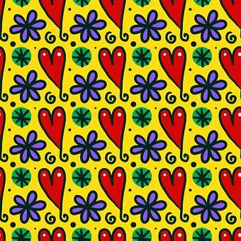Seamless, Tile, Repeat, Pattern, Textile, Wallpaper