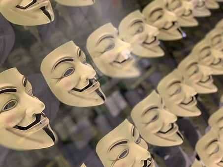 Fawkes, Anonymous, Mask
