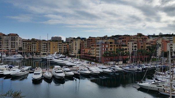 French Riviera, Monaco, Yachts, Summer