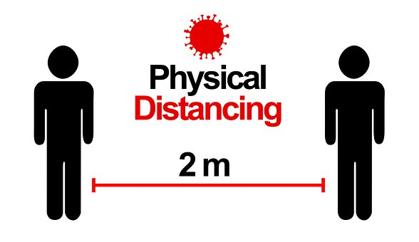 Physical Distancing, Corona, Covid-19