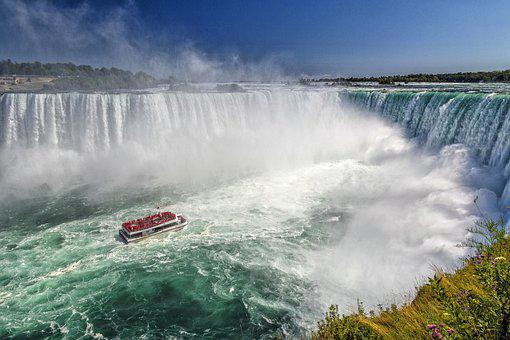 Canada, Green Water, Hornblower, Horseshoe Falls