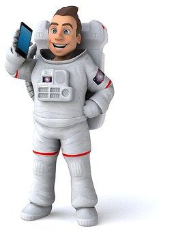 Astronaut, Cosmonaut, Space, Nasa, Spaceman, Technology