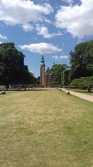 Denmark, Copenhagen, Park, Castle, Rosenborg
