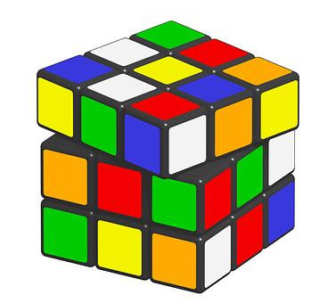Rubik, Cube, Puzzle, Game, Ernő