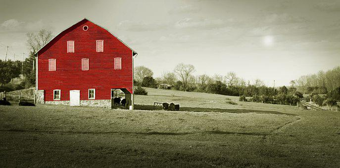 Shenandoah Valley, Virginia, The Red Barn