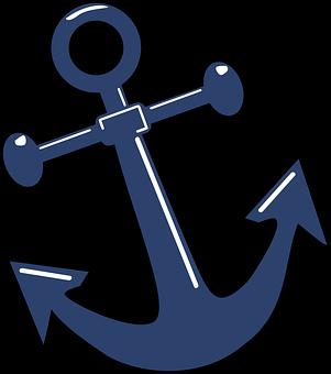 Anchor, Shiny, Symbol, Design, Icon, Isolated, Nautical