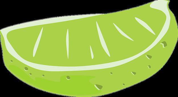 Lime, Wedge, Citrus, Fruit, Food, Green, Slice, Garnish