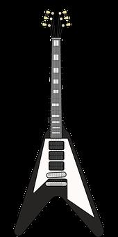 Guitar, Axe, Music, Musical, Instrument
