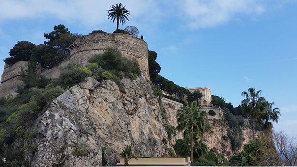 French Riviera, Monaco, Sky, Palm Tree, City, Travel