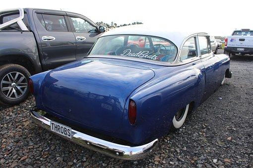 Classic, Old, Restored, Vintage, Car
