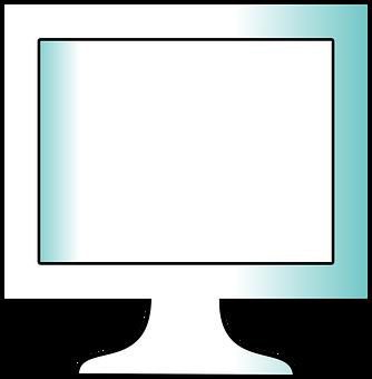 Monitor, Computer, Screen, Flat