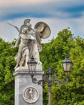 Statue, Sculpture, Figure, Berlin