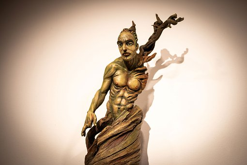 Jesus Montoya, Sculpture, Granada, Spain, Statue, Troll