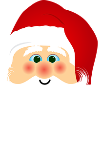 Santa, Santa Claus, Christmas, Cartoon, Comic, Holidays