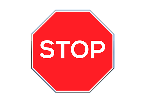 Stop, Road Sign, Stop-sign, Warning, Attention, Icon