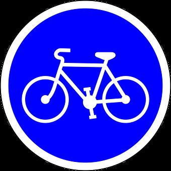 Bicycle Lane, Bicycle, Cycling, Sign