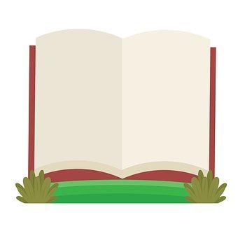 Book, Record, Read, Illustration, Kids, Clipart