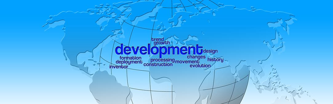 Development, Globe, Continents, Work, Motivation, Craft
