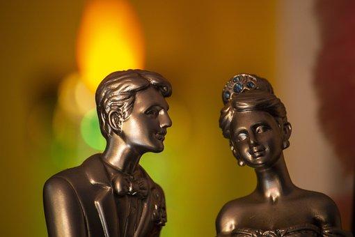 Couple, Statue, Sculpture, Love, Romantic, Figure
