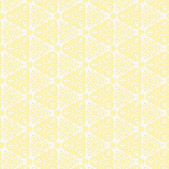 Pattern Seamless, Monochromatic, Lily, Yellow, White