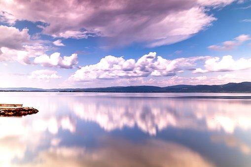 Serbia, Golubac, Danube, River, Travel, Sky, Nature