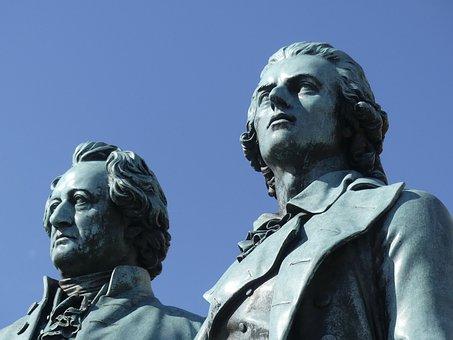 Weimar, Goethe, Schiller, Monument