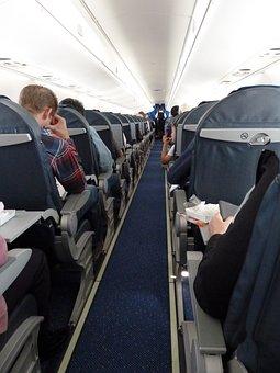 Aircraft, Aircraft Cabin, Passengers