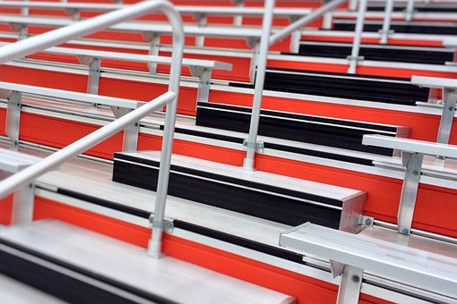 Bleachers, Stadium, Seating, Sport, Arena, Event