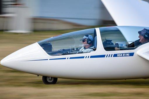 Glider, Light Aircraft, Flight, Aviation