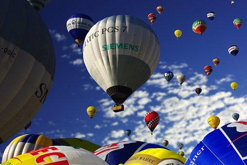 Balloon, Hot Air Balloon, Hot Air Balloon Ride